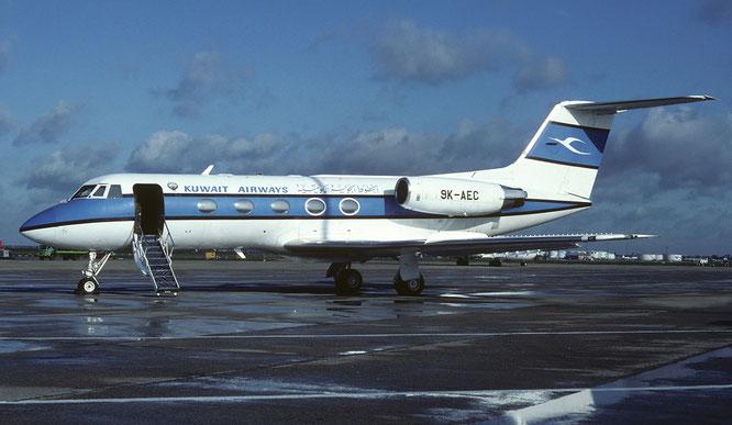 04-1983 - 9K-AEC (GII, 248) - London-Heathrow, UK - (C) Richard Vandervord