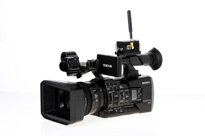 Sony PXW-X160, Funkkamera, Drahtloskamera