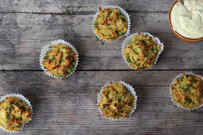 deftige Cous Cous Muffins