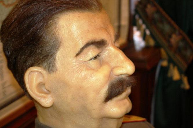 Восковая фигура Сталина. (с) Дамир Байманов
