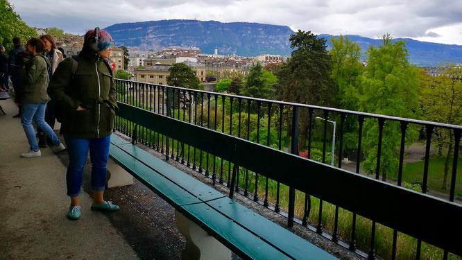 (с) Дамир Байманов. Некогда женевская скамья де ля Трей считалась самой длинной в мире.