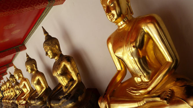 Статуи Будды. (с) Дамир Байманов