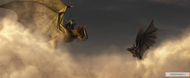 """Кадр из мультфильма """"Как приручить дракона 2""""."""