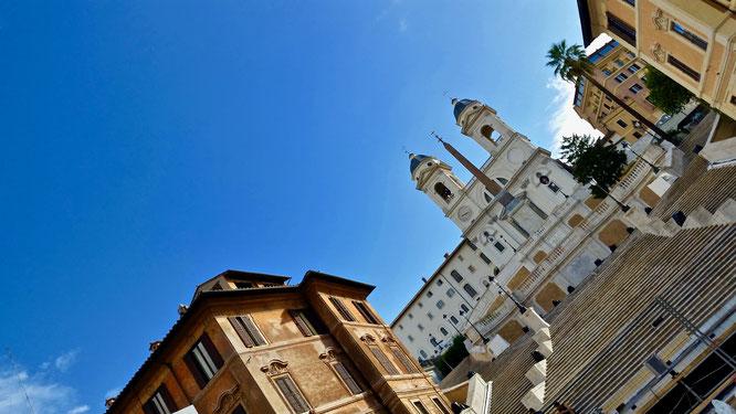 Рим, Ватикан, музей, культура, путешествия, религия, Испанская лестница