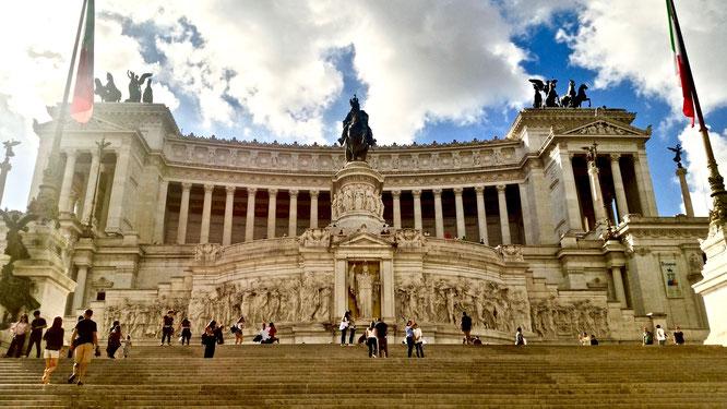 Рим, путешествия, Италия, Витториано