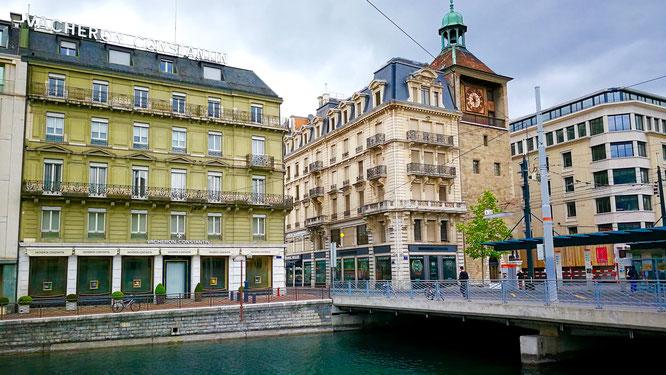 (с) Дамир Байманов. Женева оценивается как один из самых дорогих городов в мире, но в то же время она является одним из главных городов по качеству жизни.