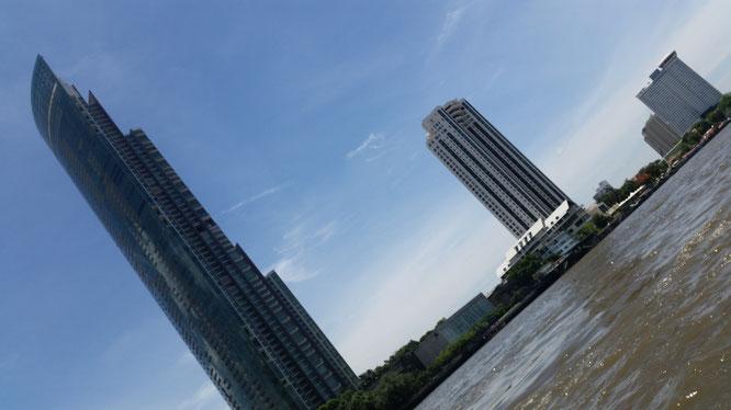 Река Чаупхрая, Бангкок. (с) Дамир Байманов