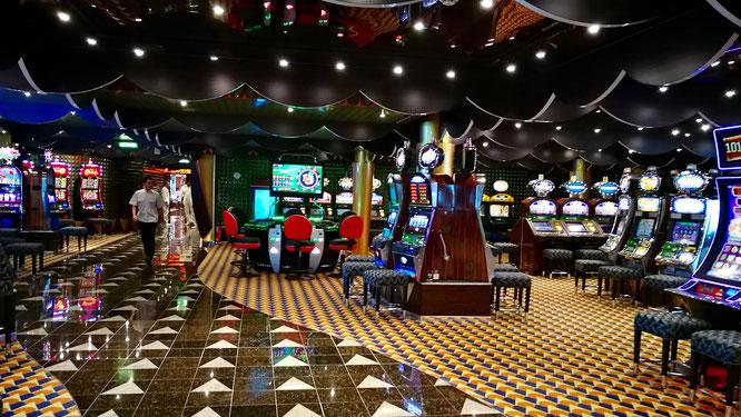 Настоящее казино на борту.