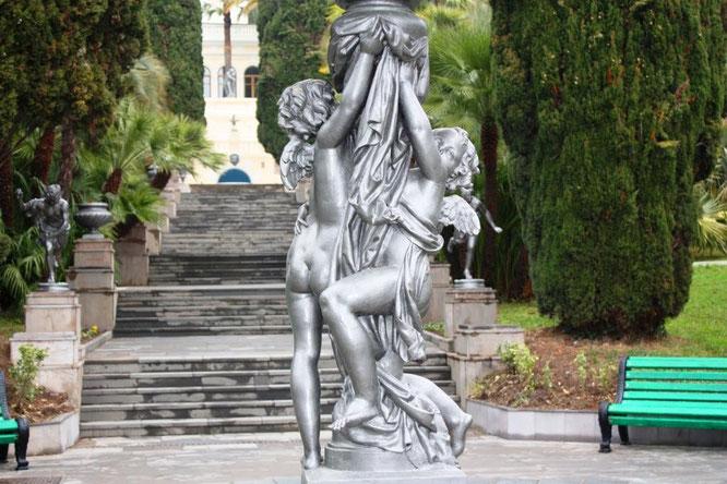 "Центральный фонтан ""Амуры"". (с) Дамир Байманов"