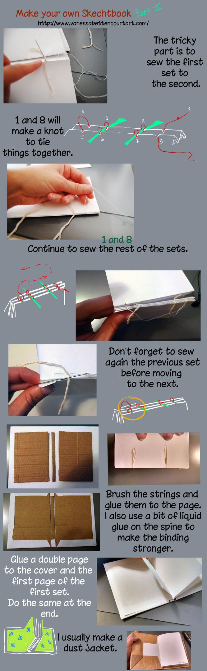 sewbooktutorial bindingbook sketchbooktutorial traditionalnews