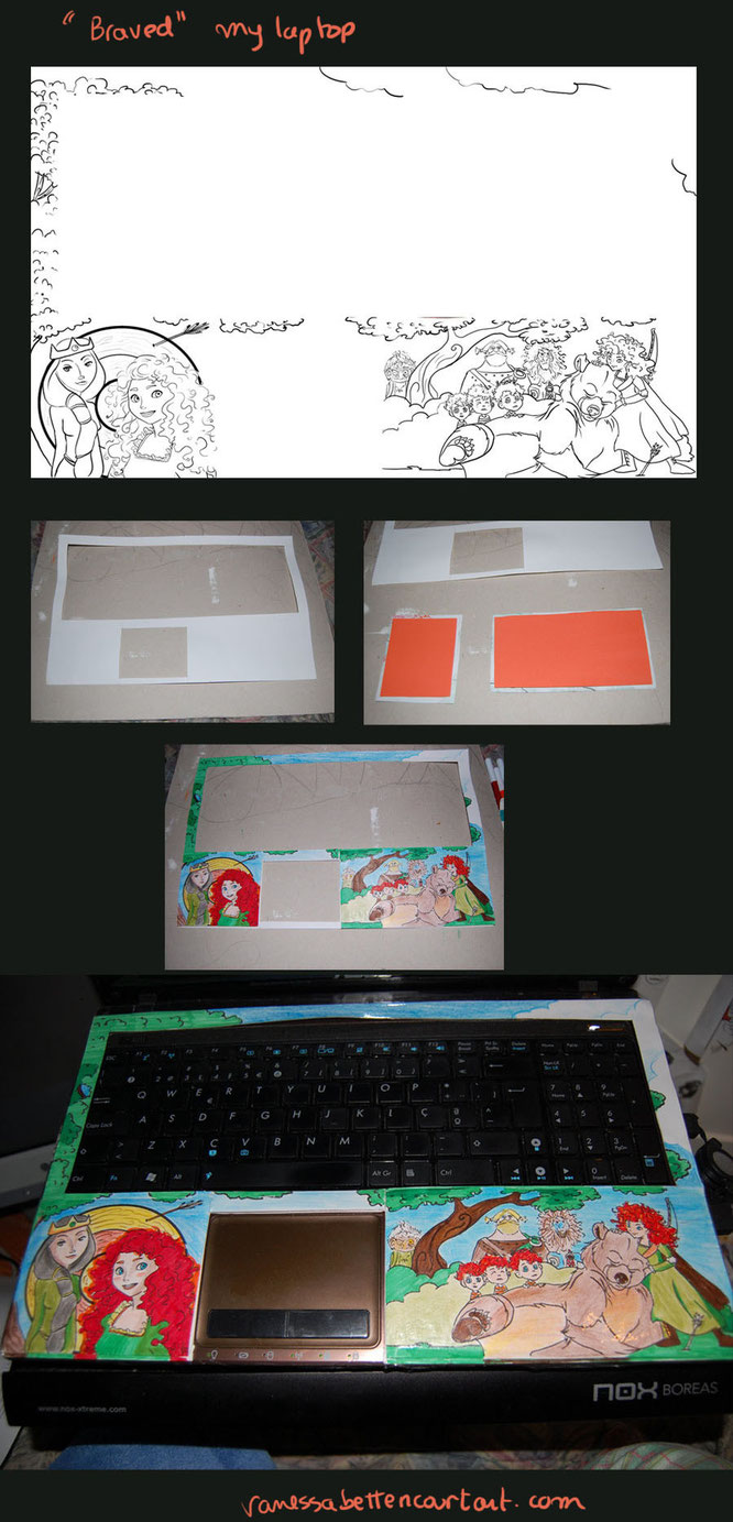 craftskids disneycrafts disneyfanartbrave drawingfanartdisneylaptop traditionalnews tips2015