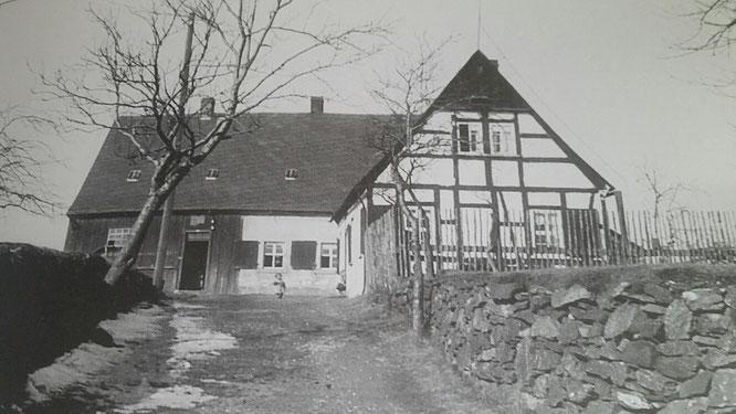 Foto: altes Steiger- und Huthaus der Adam Heber Fundgrube