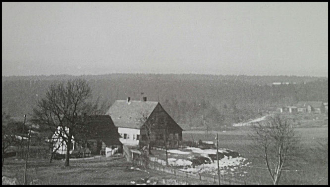 FG Adam Heber vor 1961, rechts am Hügel alte Ziegelei