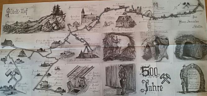 Große Karte von Peter Günther