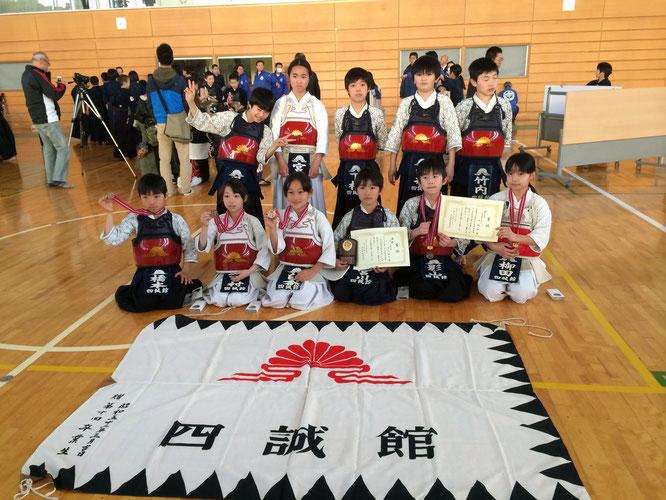越谷剣道クラブ少年剣道交流大会・第28回村岡杯