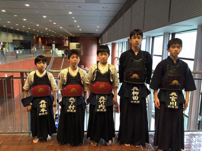 鬼高剣友会創立40周年記念東日本選抜少年剣道錬成大会