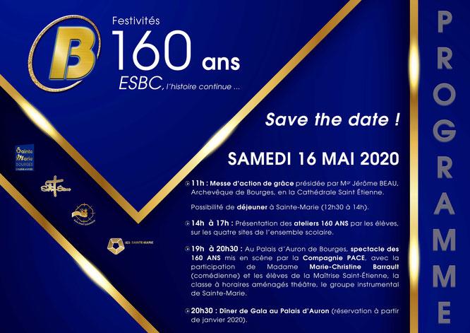 > Cliquez sur l'image pour découvrir le programme du samedi 16 mai 2020 ...