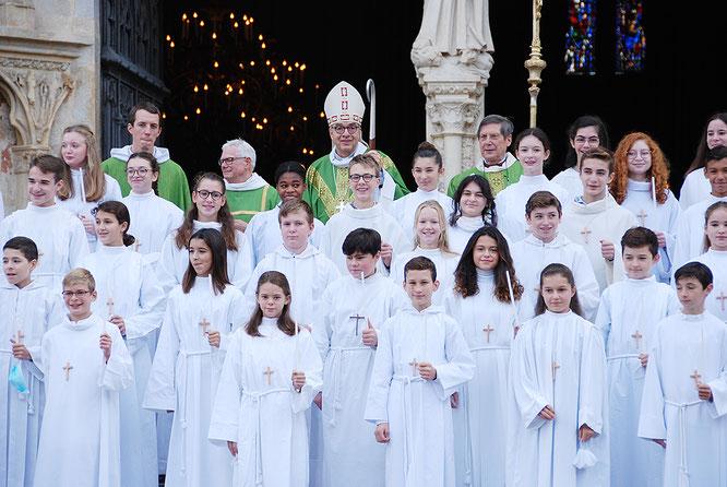Profession de Foi | Cathédrale Saint-Étienne (10 octobre 2020)