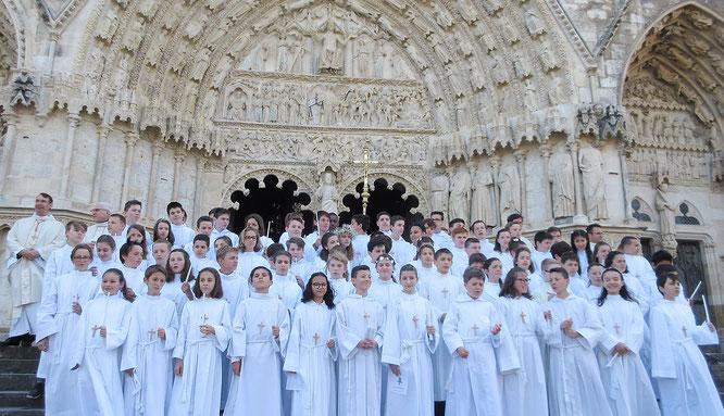 Profession de Foi des collégiens de Sainte-Marie (Samedi 19 mai 2018 | Cathédrale Saint-Étienne)