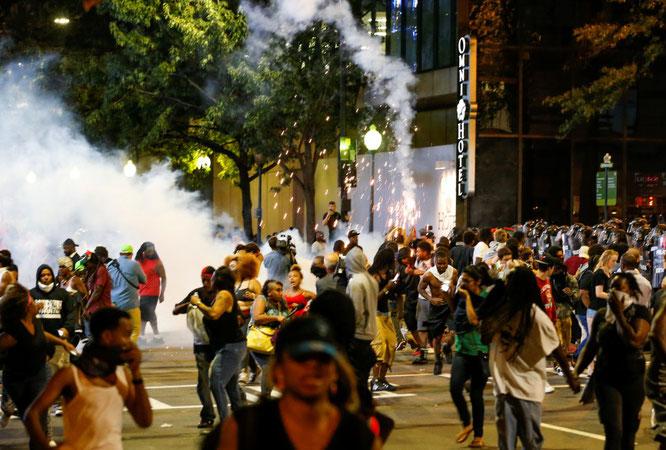 Disturbios en USA, junio 2020, fotografía Facebook