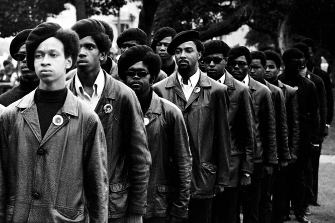 Panteras Negras, años 60