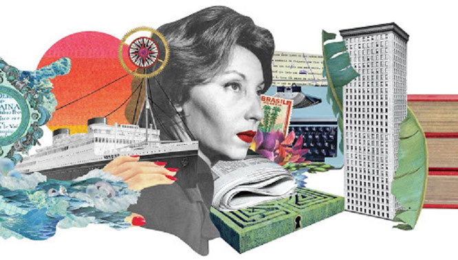 Clarice Lispector, homenajeada en Google