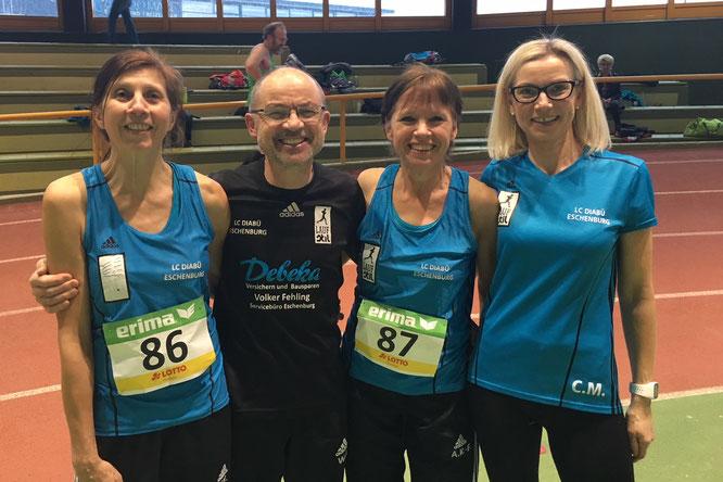 v.l.: Yvonne Heck, Walter Fiedler, Annika Karfs-Fiedler und Carola Müller