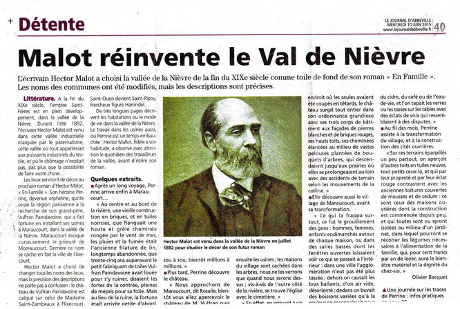 Journal d'Abbeville - Hector Malot