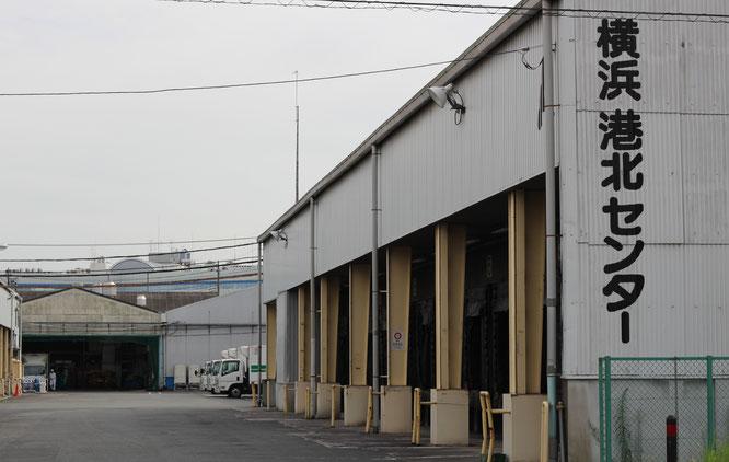 横浜港北センター外観図 米飯港北センター センター入口