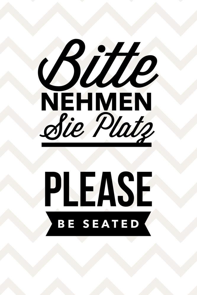 toiletten hinweis schild bitte nehmen sie platz please be seated myramasuris webseite. Black Bedroom Furniture Sets. Home Design Ideas