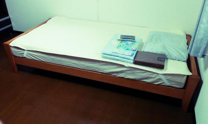 一番人気のすのこベッドと一緒に