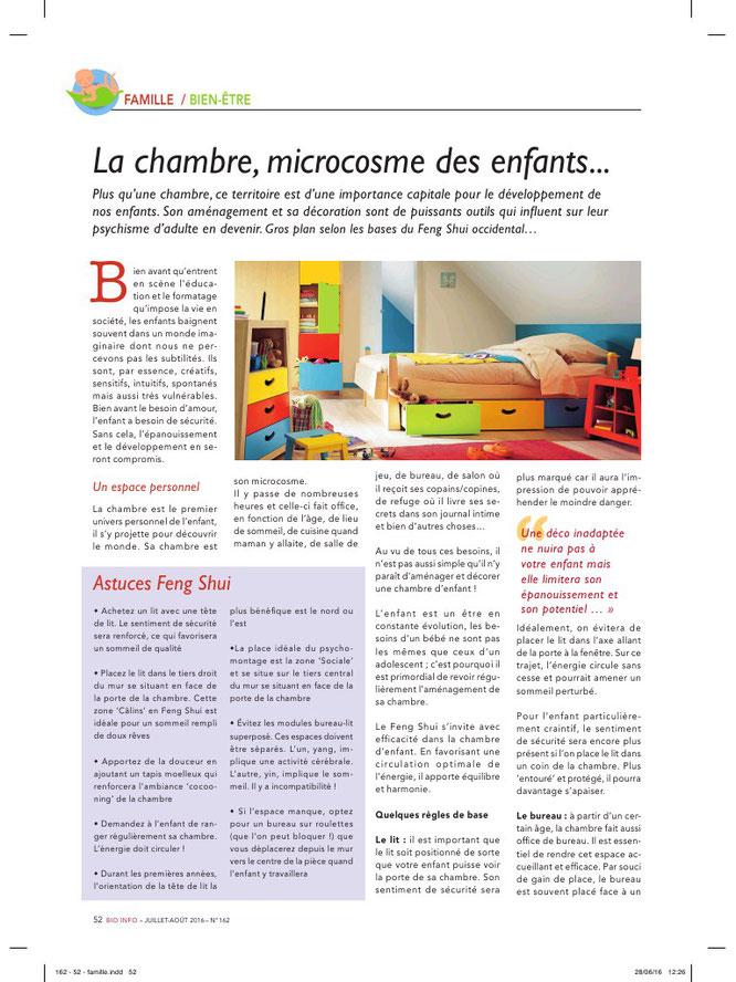 Comment aménager la chambre de votre enfant pour un meilleur épanouissement - Equilibre Naturel, Home Organising & Feng Shui
