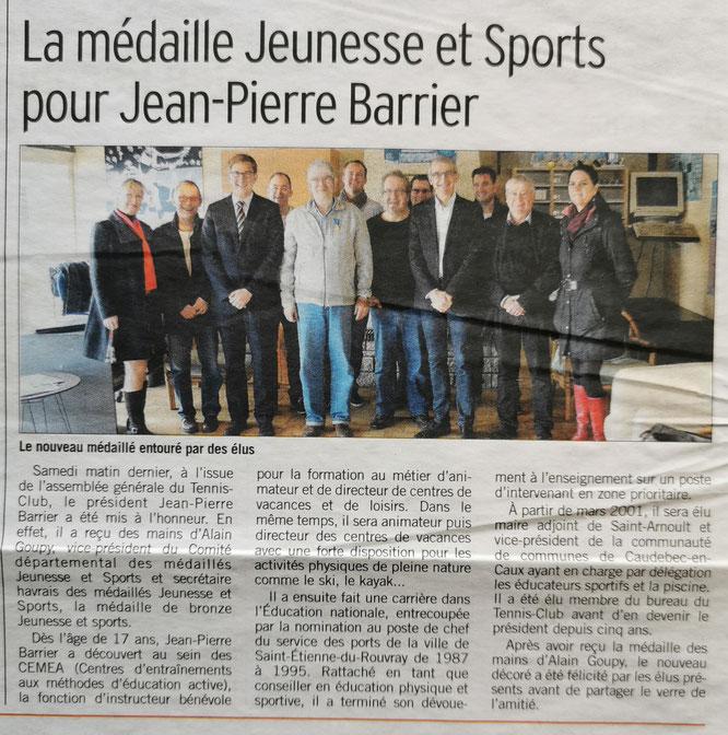 Jean-Pierre BARRIER Alain GOUPY Bastien CORITON Jacky VIEULE