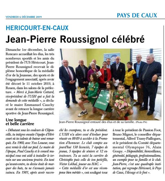 PARIS-NORMANDIE du 6 décembre 2019