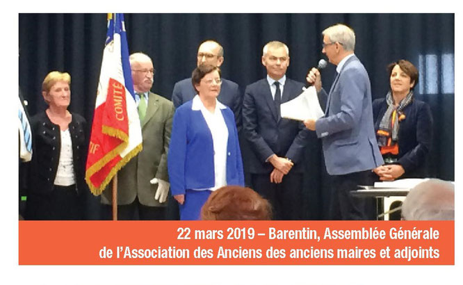 Extrait de la lettre mensuelle de Madame la Sénatrice Agnès CANAYER