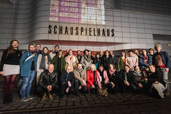 21.03.19 Hannover: Wir sind viele / Foto: Moritz Küstner