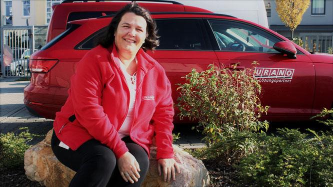 Esther Weinz verbreitet gute Laune: Die Leiterin Sales Support setzt dabei auf echte Wertschätzung.
