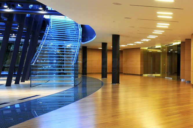Faraone _ лестница модели MATHIS (Монтевидео, Уругвай)