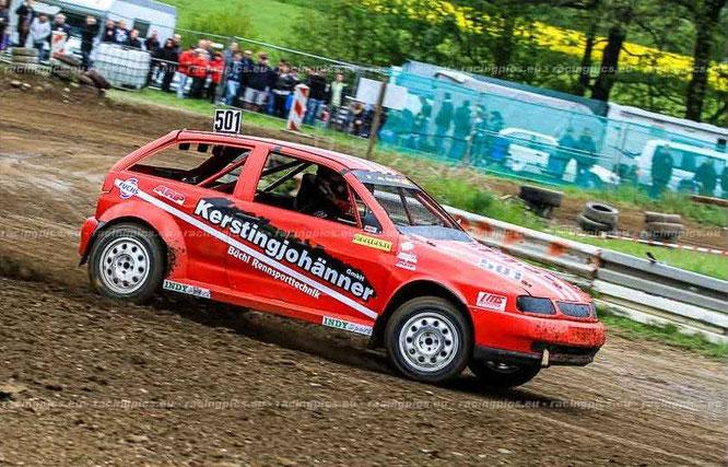 Fahrer: Rolf Busche ; Deutscher Meister 2014 im Autocross (DRCV)
