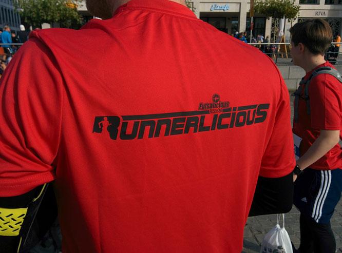 """""""Runnerlicious"""" ist keine eigene Abteilung bei Futsalicious Essen e.V., aber ein gerne genutztes, gemeinschaftsförderndes (Wettkampf-)Angebot für alle Mitglieder ... mit eigenem Logo (Foto: Gött)"""