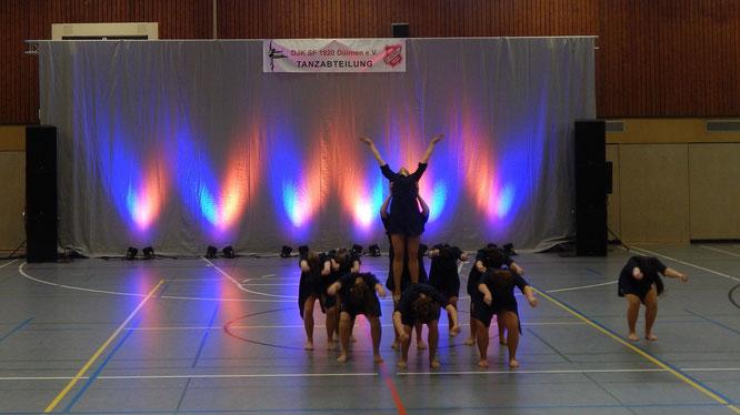 Dancelicious tanzt zum Saisonauftakt 2016 in Dülmen (Foto: Stefanie Baudis)