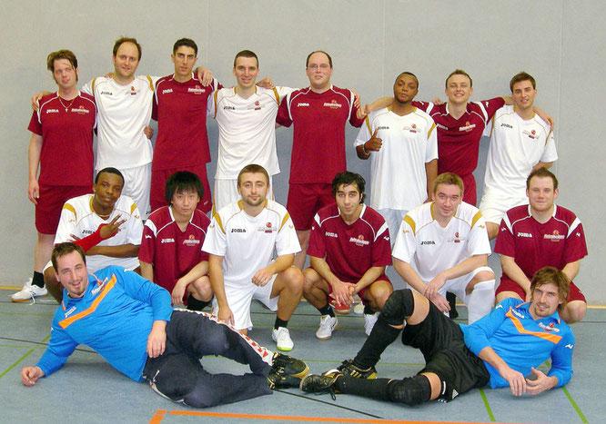 Futsalicious Essen e.V. Mannschaften 1 und 2 beim Vergleichsspiel im November 2010