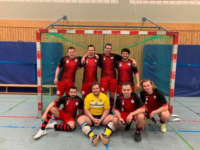Das Team beim 9:2-Erfolg gegen Wuppertal III (Foto: Rambow)