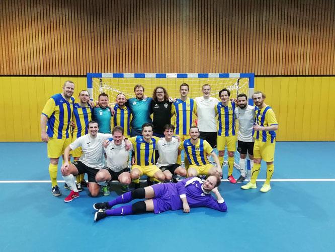 Trainings-Testspiel in der Futsal-Halle der Sportschule Wedau gegen den GTSV Essen (Foto: Wehling)