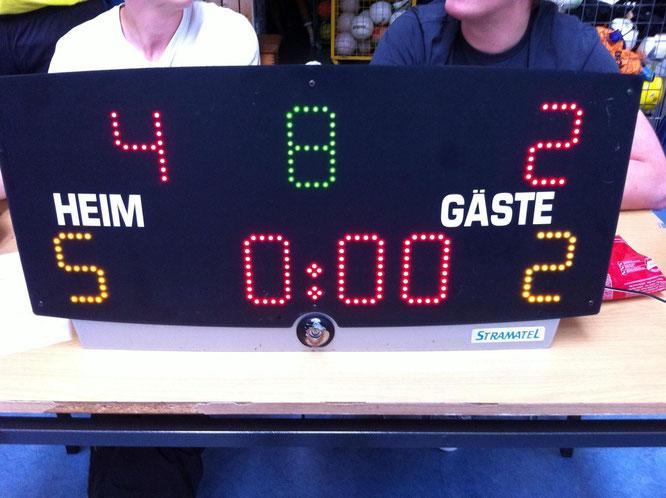 """Am Ende ein erfreuliches 4:2 für """"Futsalicious Essen II"""" (Foto: Wehling)"""
