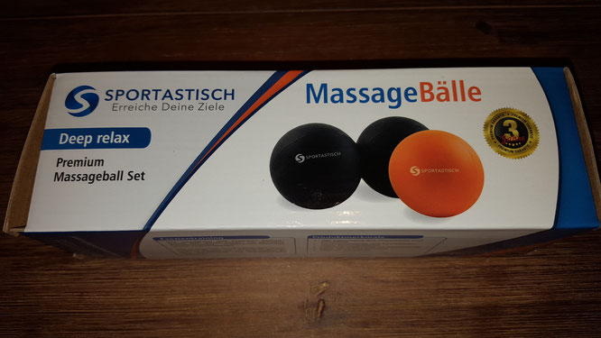 Sportastisch Massagebälle 2er Set