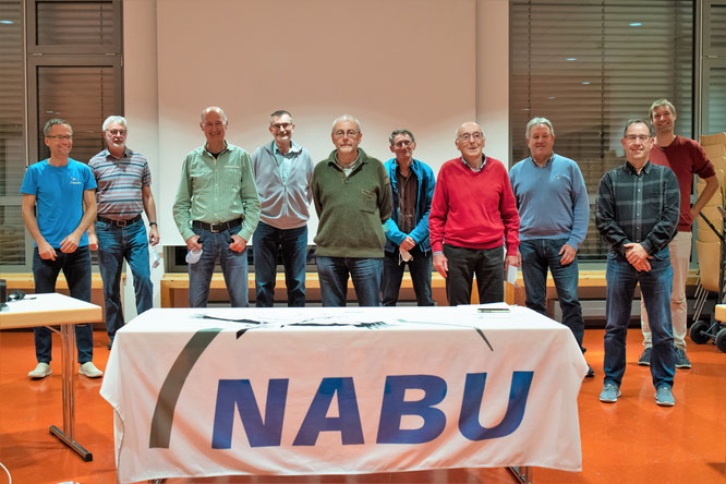 Der neu gewählte Vorstand des NABU Bretten - Bild: Christian Schmidt