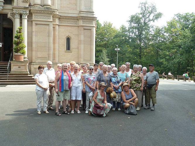 Die Dauborner Landfrauen in Wiesbaden