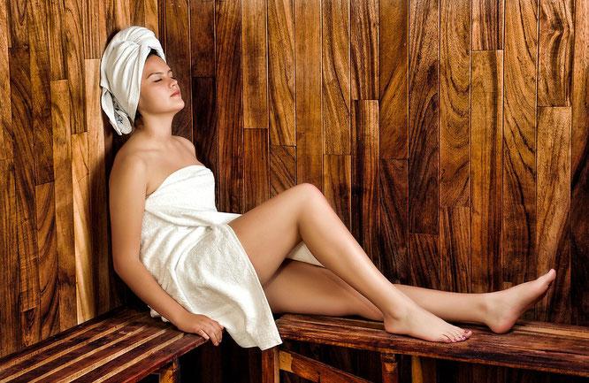 sauna facial