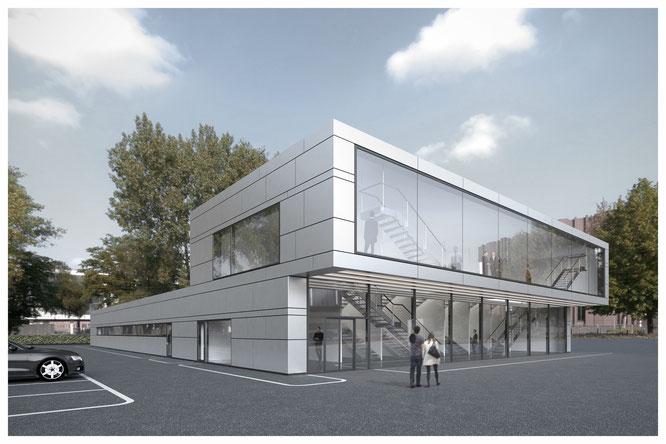 Werk und ausstellungshalle architektur mrss webseite - Architektur werk ...